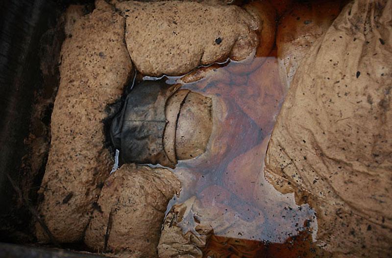 mummy04 В Китае строители нашли мумию