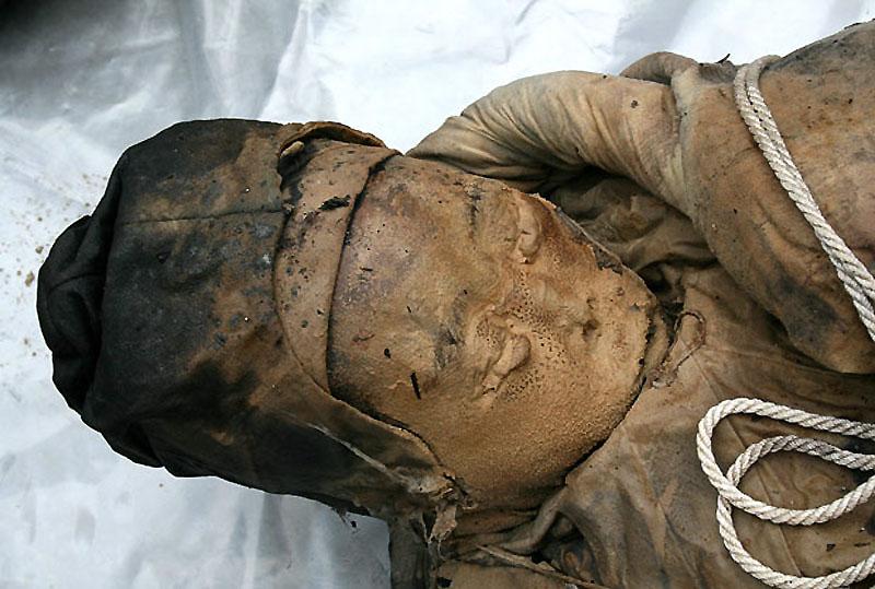 mummy08 В Китае строители нашли мумию