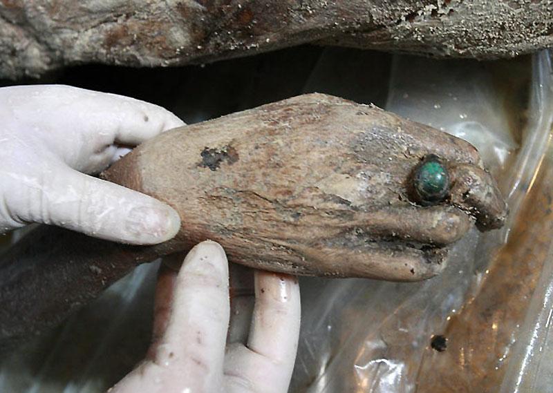 mummy11 В Китае строители нашли мумию