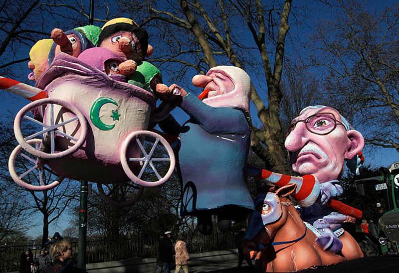 turkish 1842471i Политическая сатира на немецких карнавалах (Часть 2)