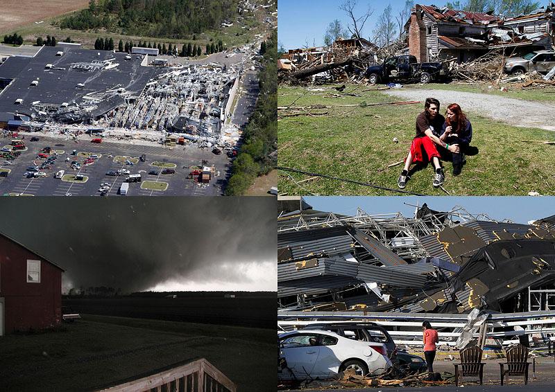 0040  Торнадо в США