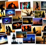 Силуэты на закате от фотографа Ти Джей Скотта