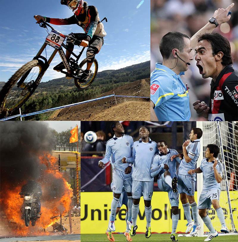 Подборка фотографий, сделанных во время самых разных спортивных событий