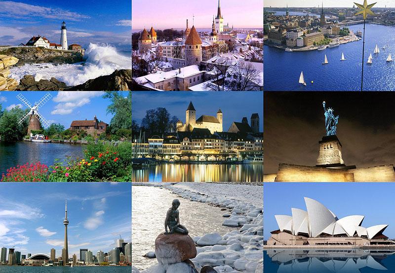 0093 negara paling makmur di dunia