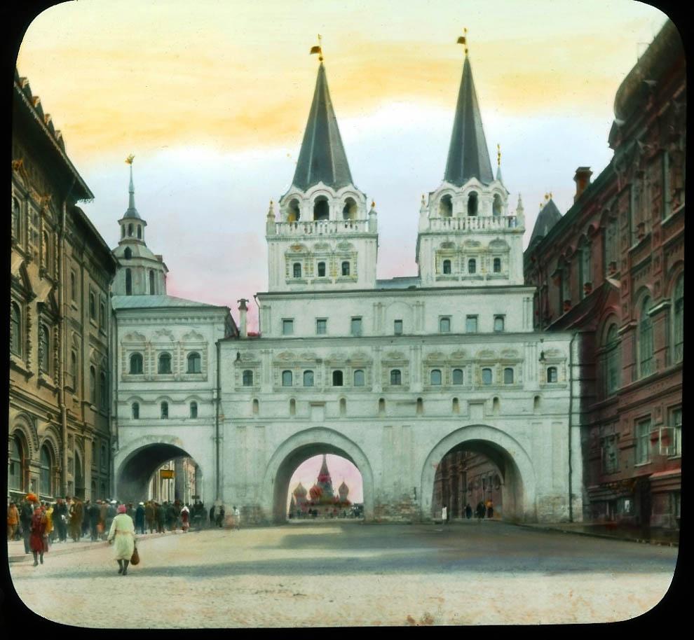 10137 Москва 1931 ого года в цвете