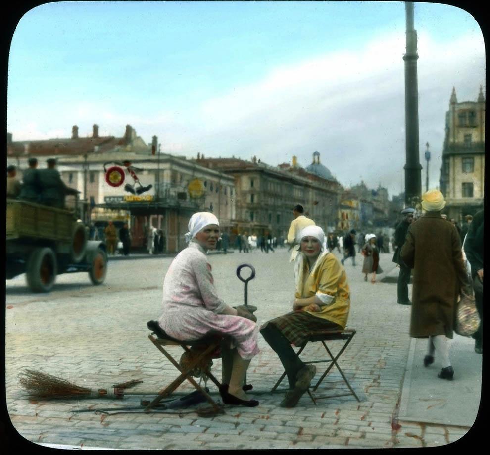 12142 Москва 1931 ого года в цвете