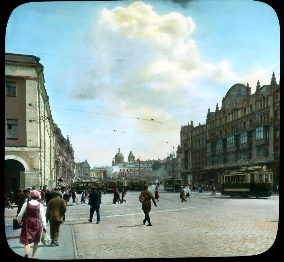13131 Москва 1931 ого года в цвете