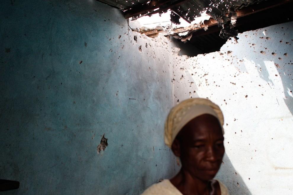 Лидер Кот-Д'Ивуара в осаде