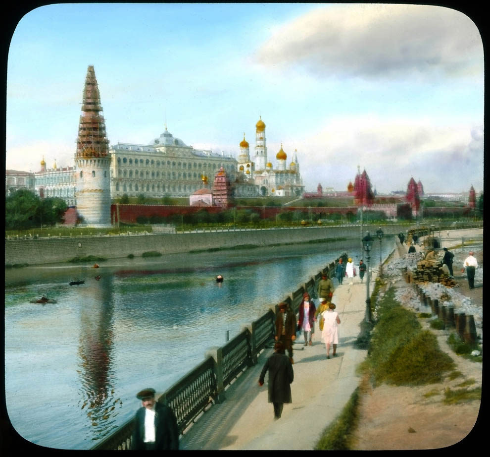 1600 Москва 1931 ого года в цвете