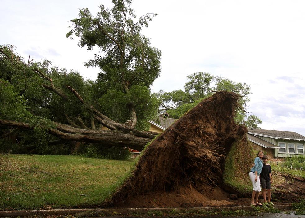 Весенние ураганы в США