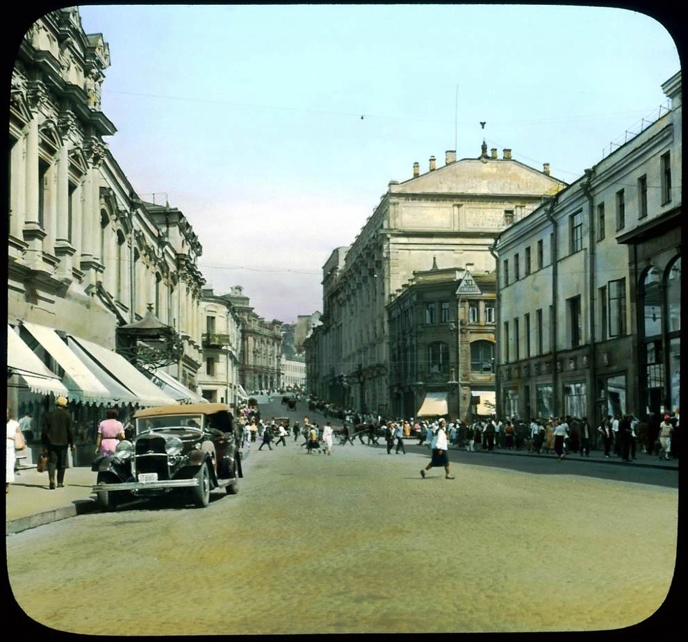 17111 Москва 1931 ого года в цвете