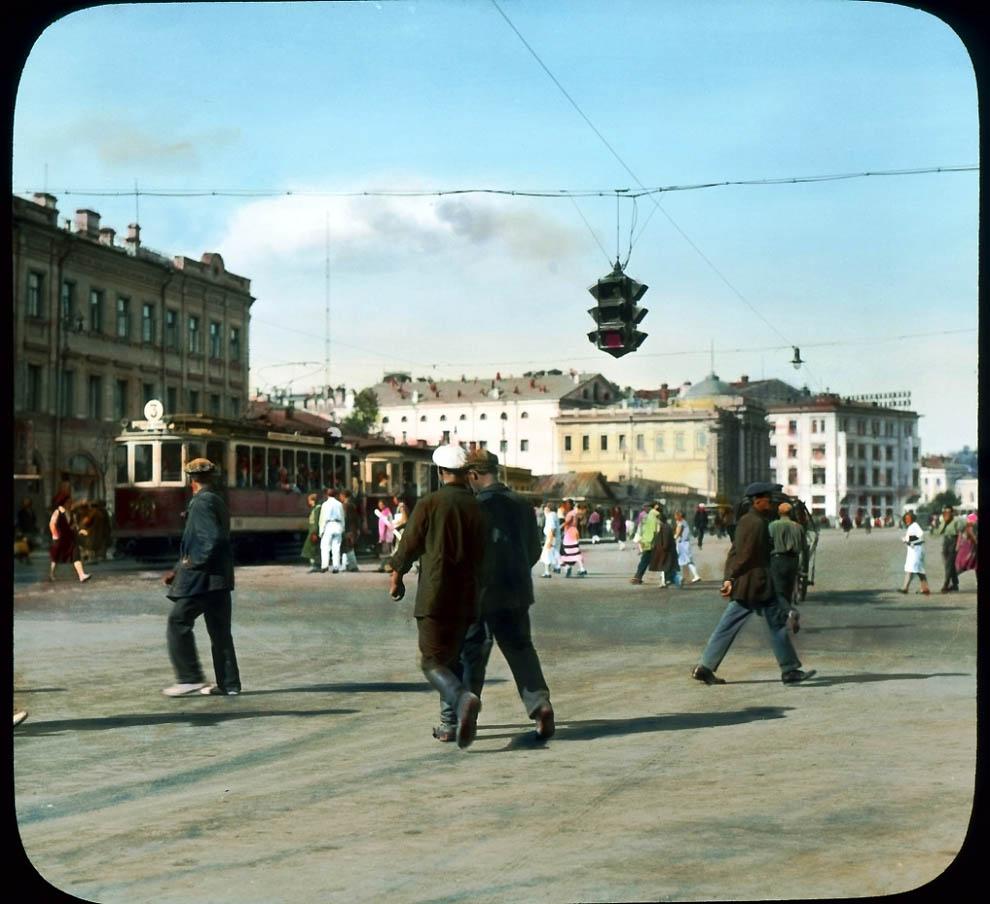 18110 Москва 1931 ого года в цвете