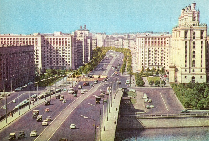 Москва 1960-х.