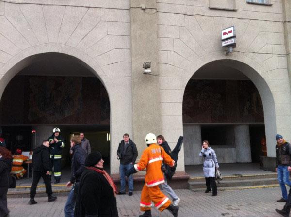 2152 Взрыв в Минске