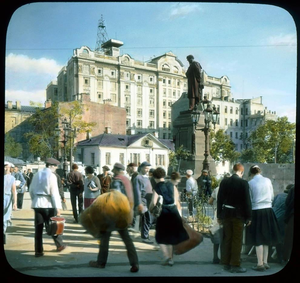 22108 Москва 1931 ого года в цвете