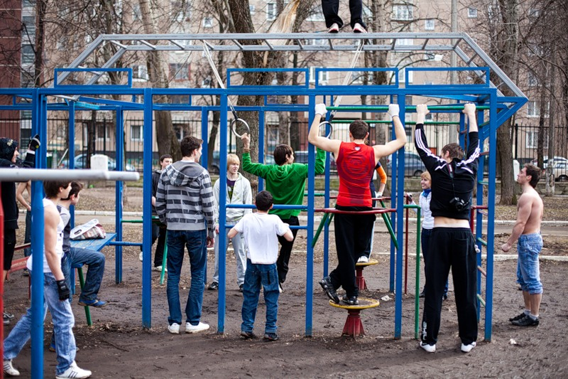 Городское движение. Ghetto workout
