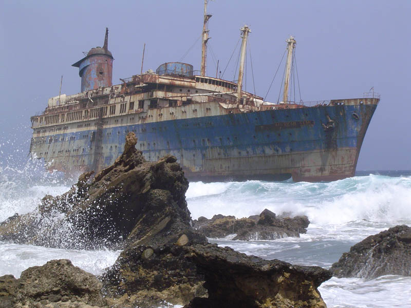 The Mystery of the Wrecked Ships.