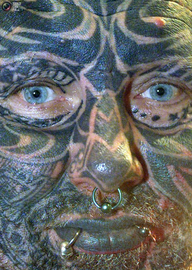 Экстримальные татуировки