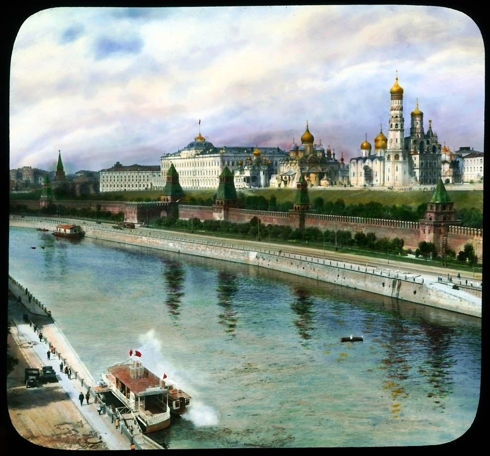 2308 Москва 1931 ого года в цвете