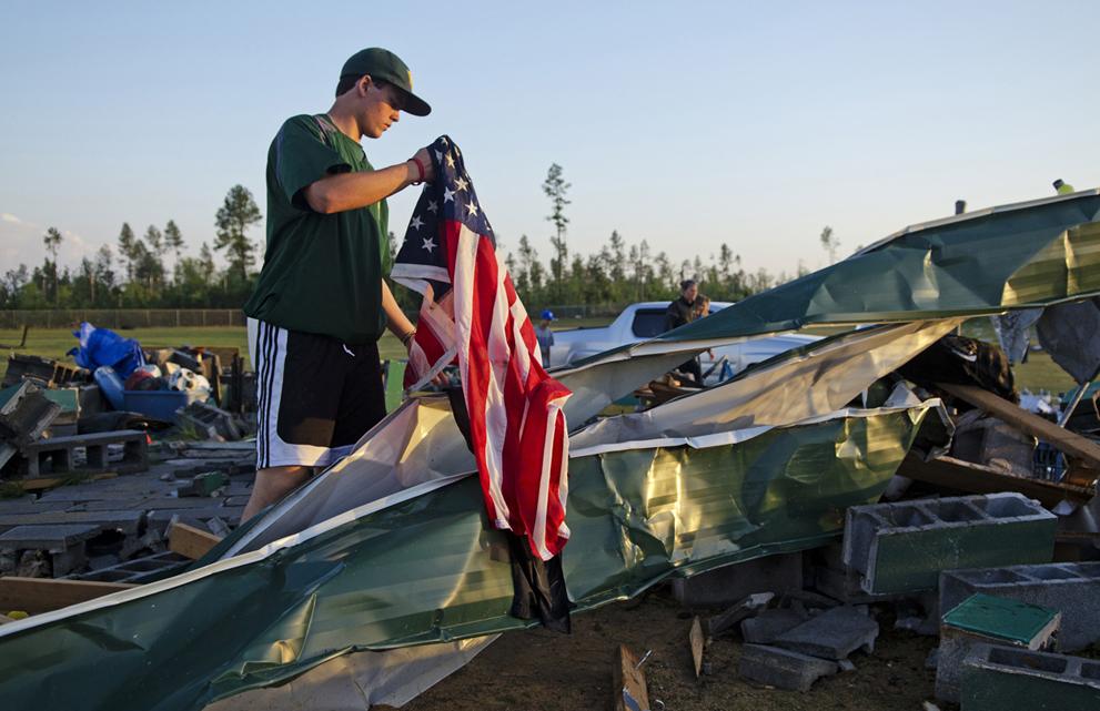Торнадо в США