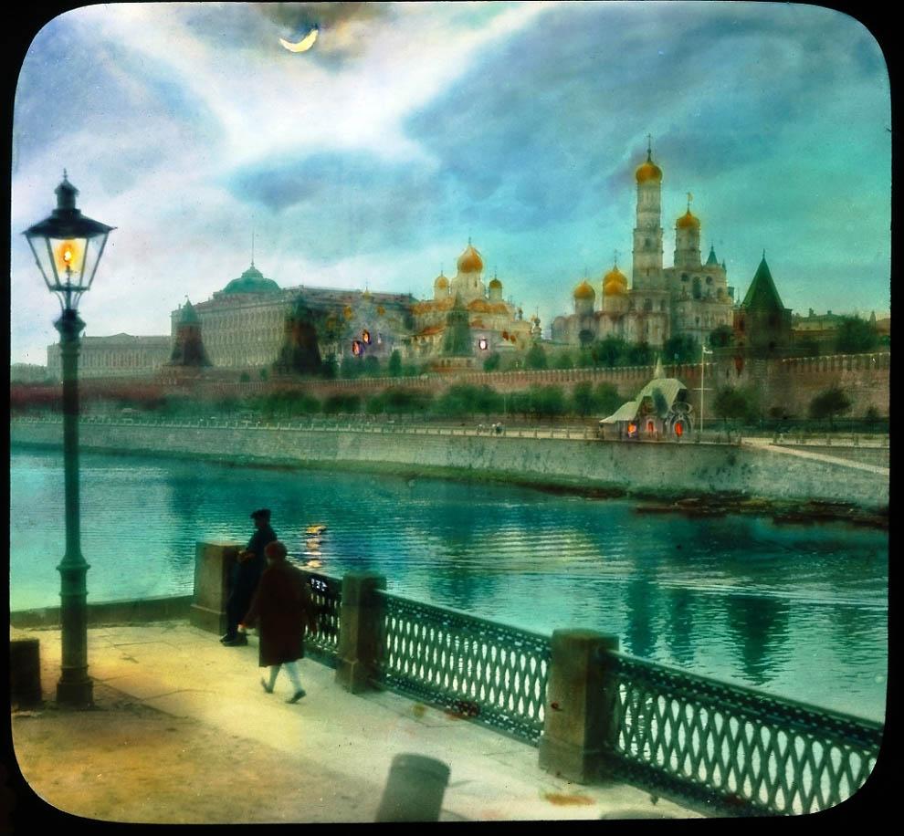 3261 Москва 1931 ого года в цвете