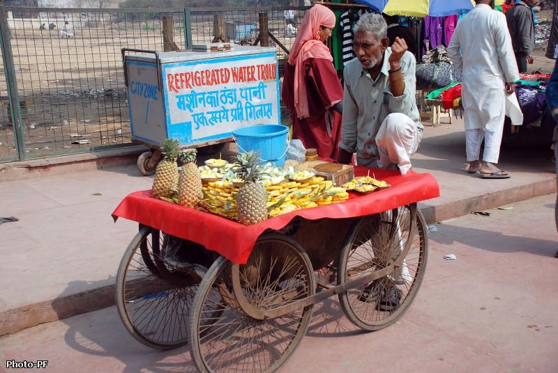 Джама-Масджид и ближайщий рынок.