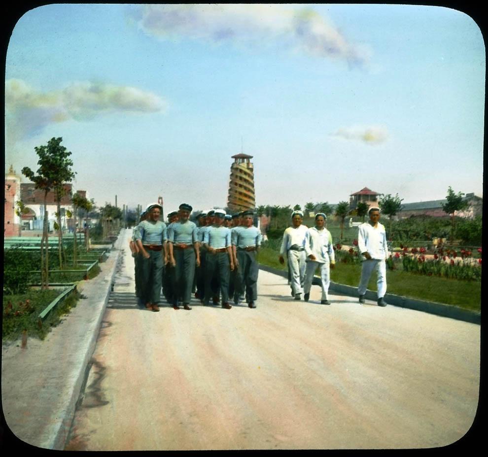 3735 Москва 1931 ого года в цвете