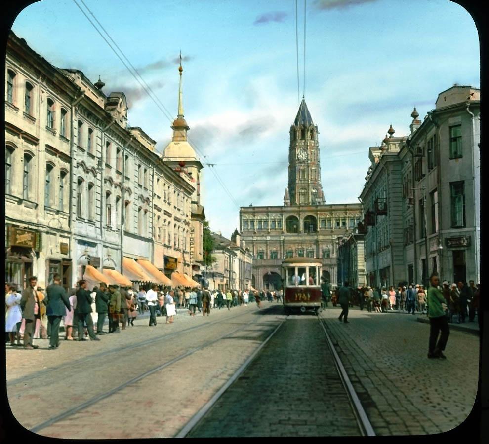 3931 Москва 1931 ого года в цвете