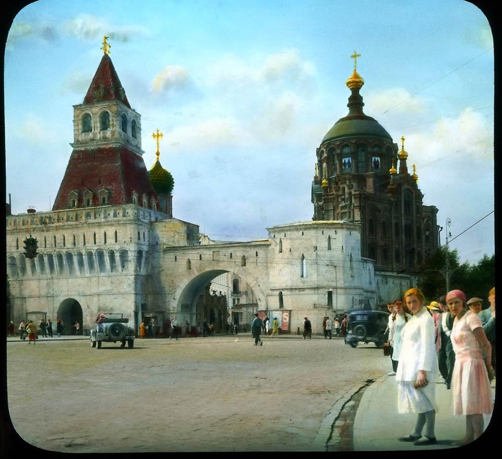 4027 Москва 1931 ого года в цвете