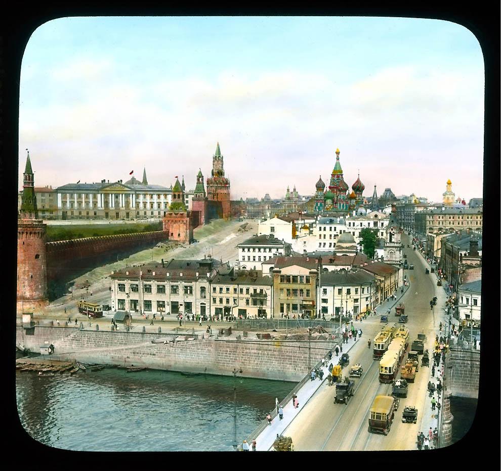 4174 Москва 1931 ого года в цвете