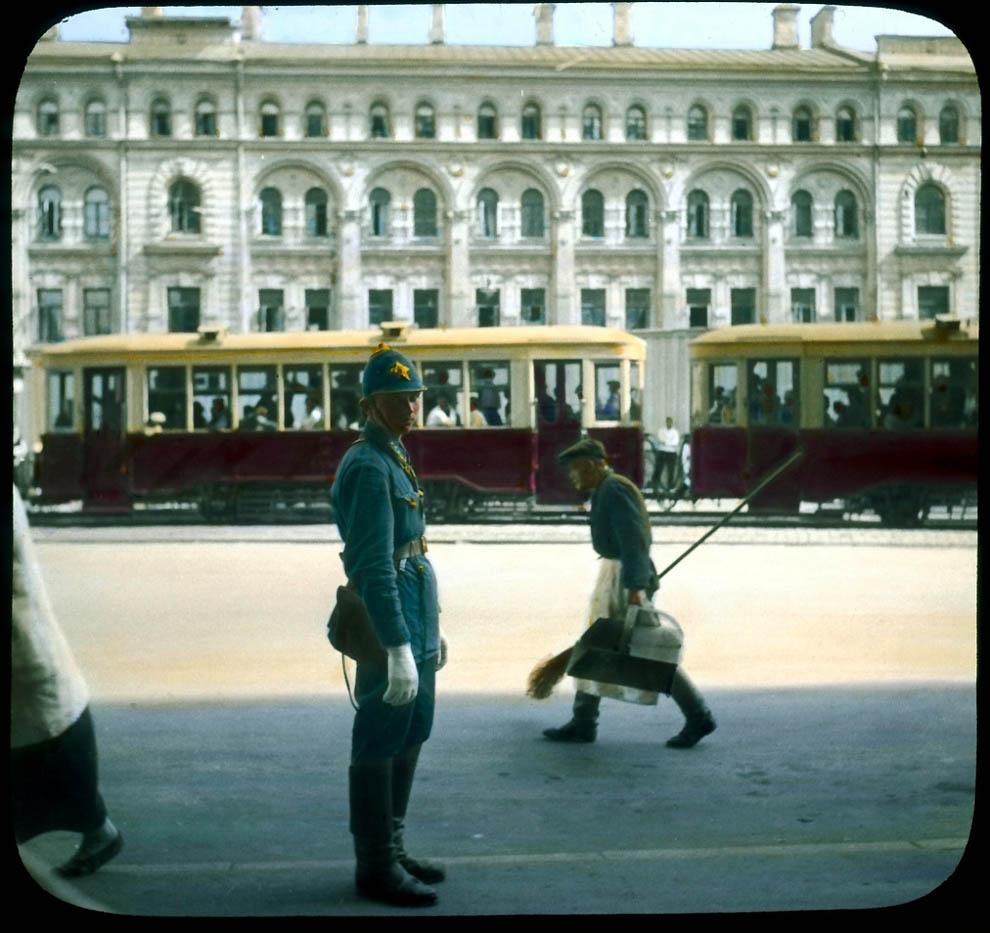 4426 Москва 1931 ого года в цвете