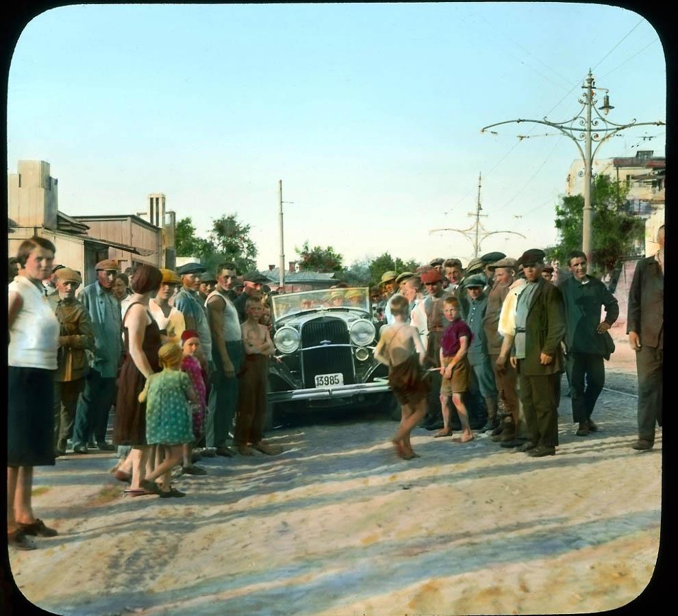 4620 Москва 1931 ого года в цвете