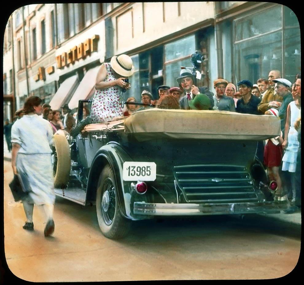 4718 Москва 1931 ого года в цвете