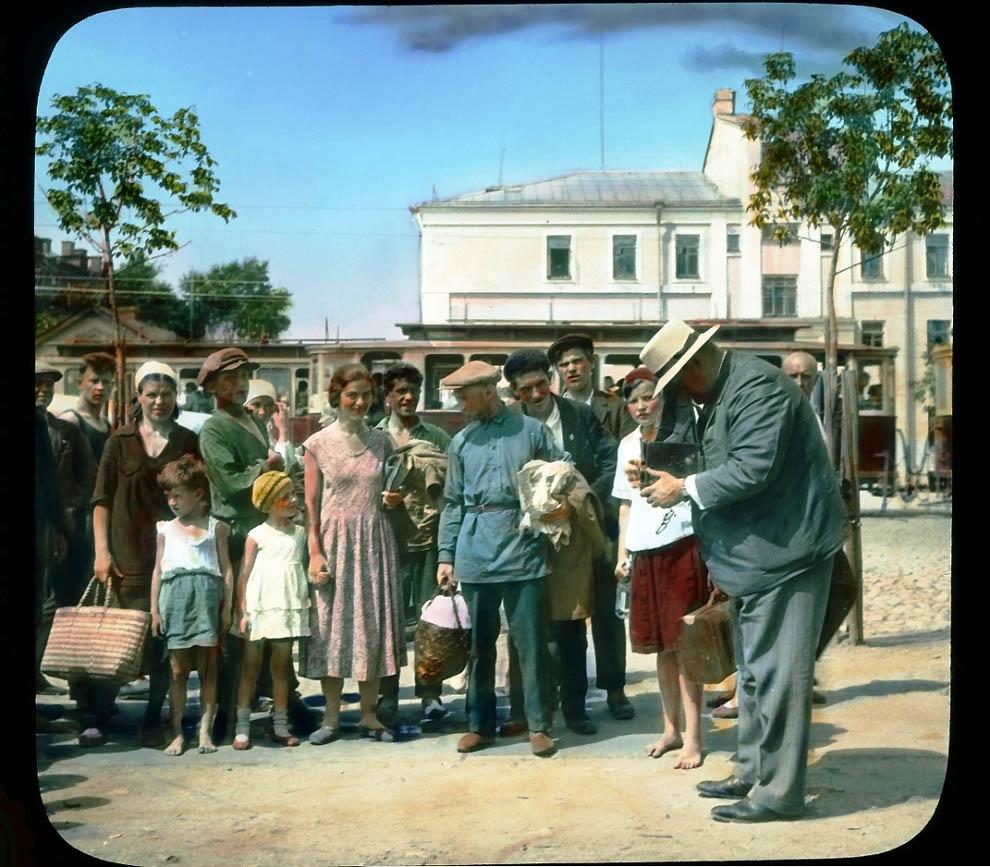 4818 Москва 1931 ого года в цвете