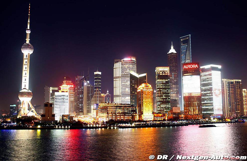 51. Вечерний Шанхай.