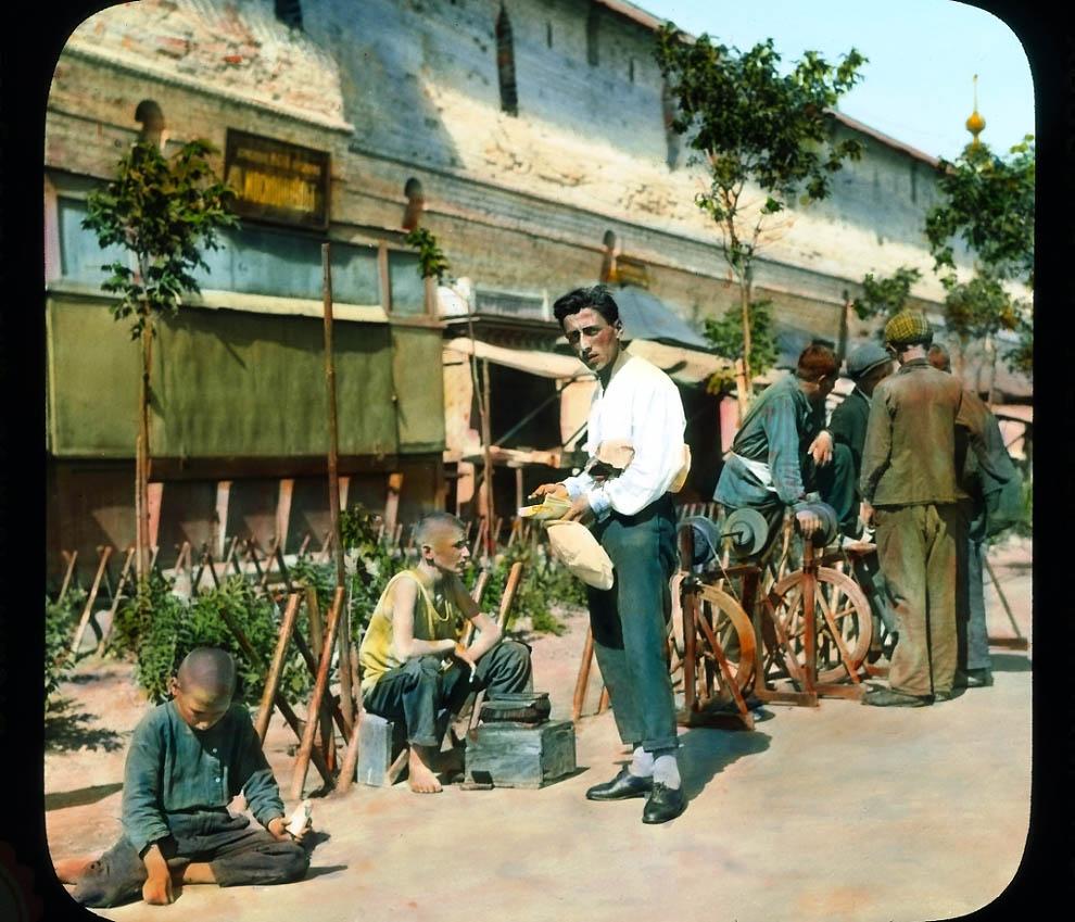 5614 Москва 1931 ого года в цвете