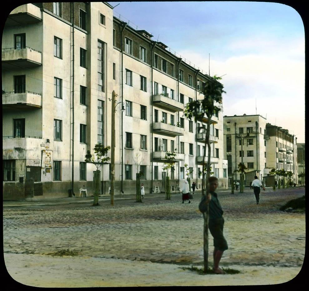 606 Москва 1931 ого года в цвете