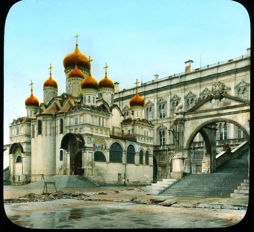 6131 Москва 1931 ого года в цвете