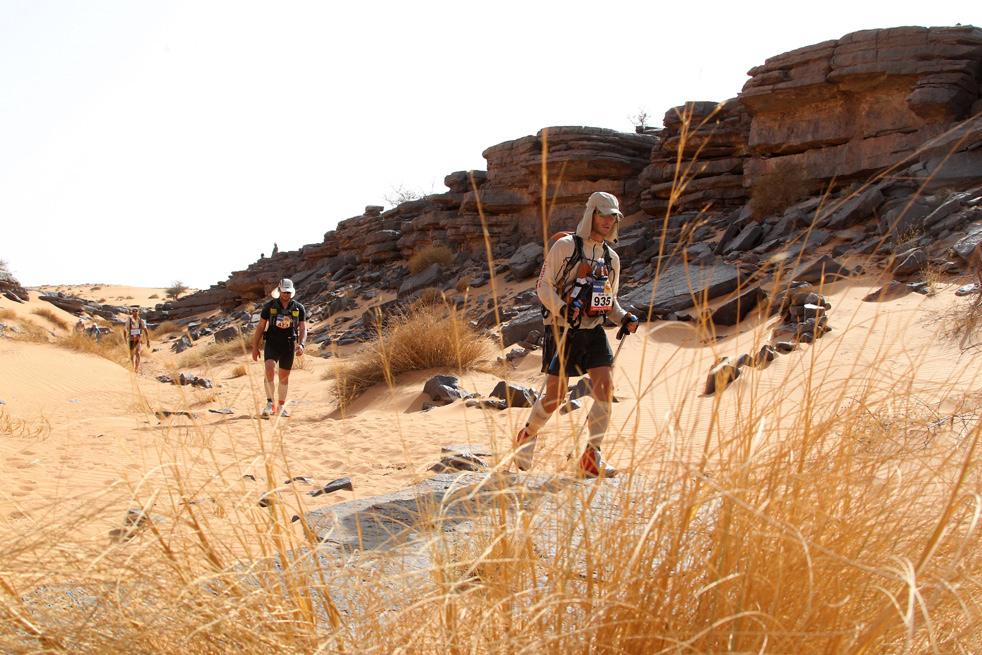26-й Песчаный марафон (Марафон des Sables).