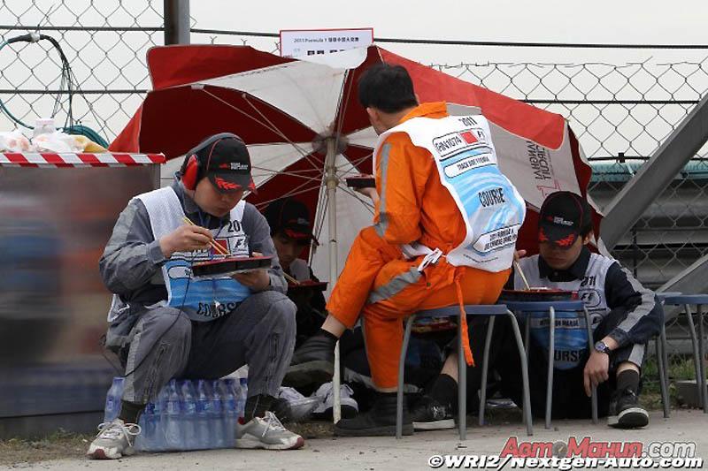 Мир Формулы-1: Китай – подготовка, квалификация