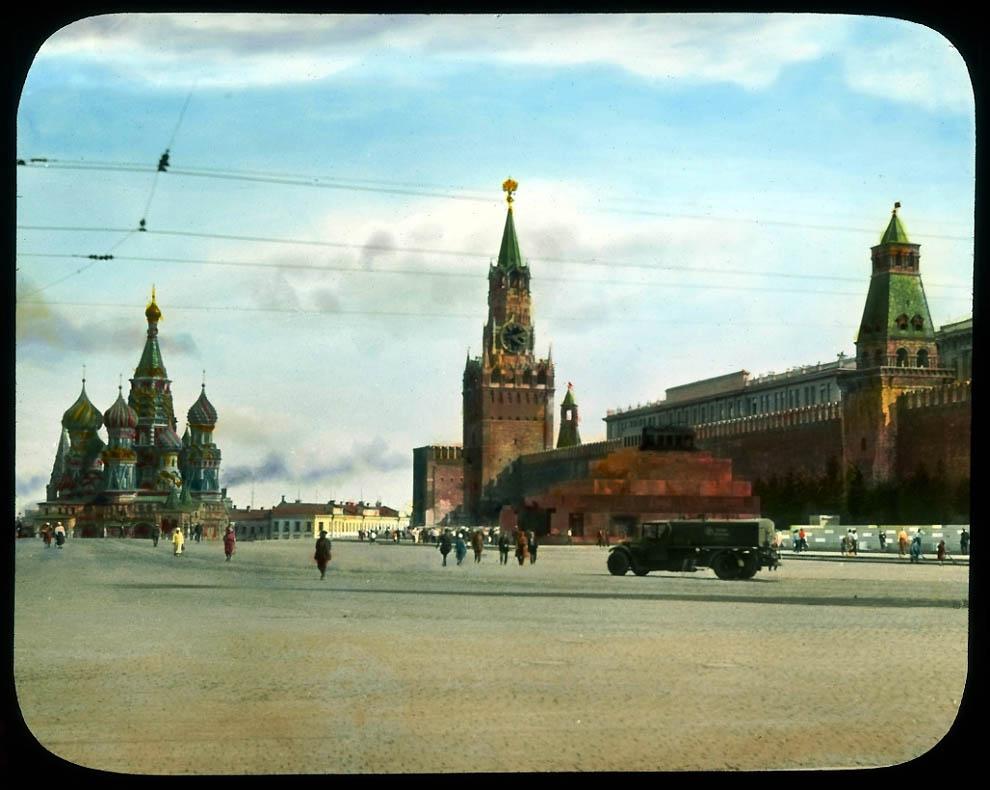 8105 Москва 1931 ого года в цвете