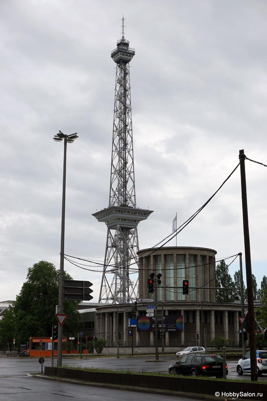 Виды на Берлин с радиобашни