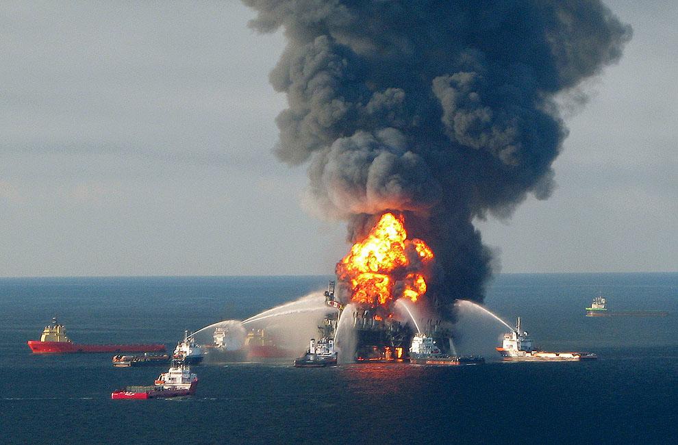 o01 RTR2FDQU Разлив нефти в Мексиканском заливе год спустя