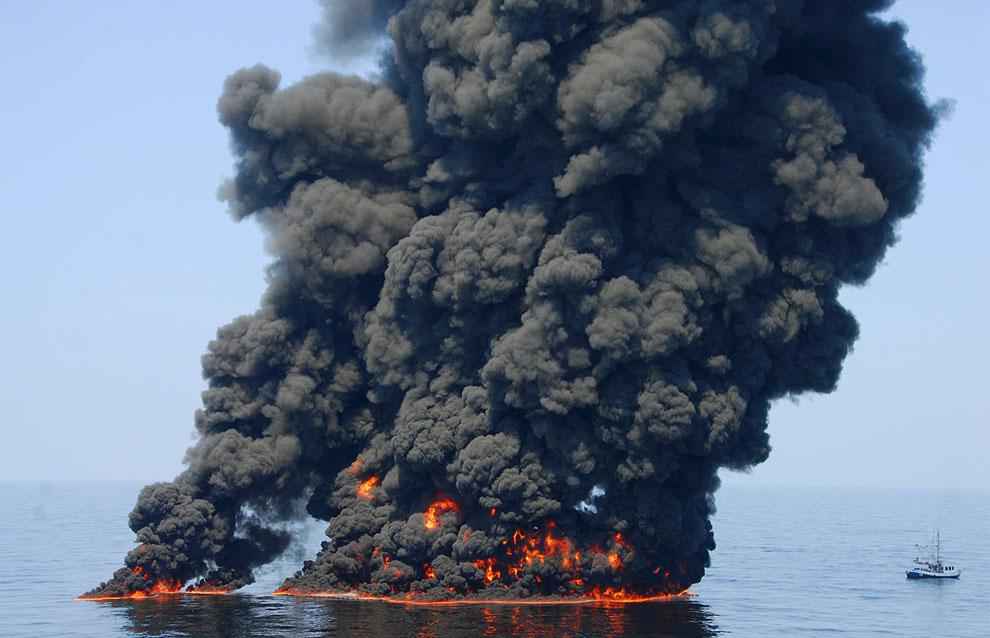 o08 RTR2F1EQ Разлив нефти в Мексиканском заливе год спустя