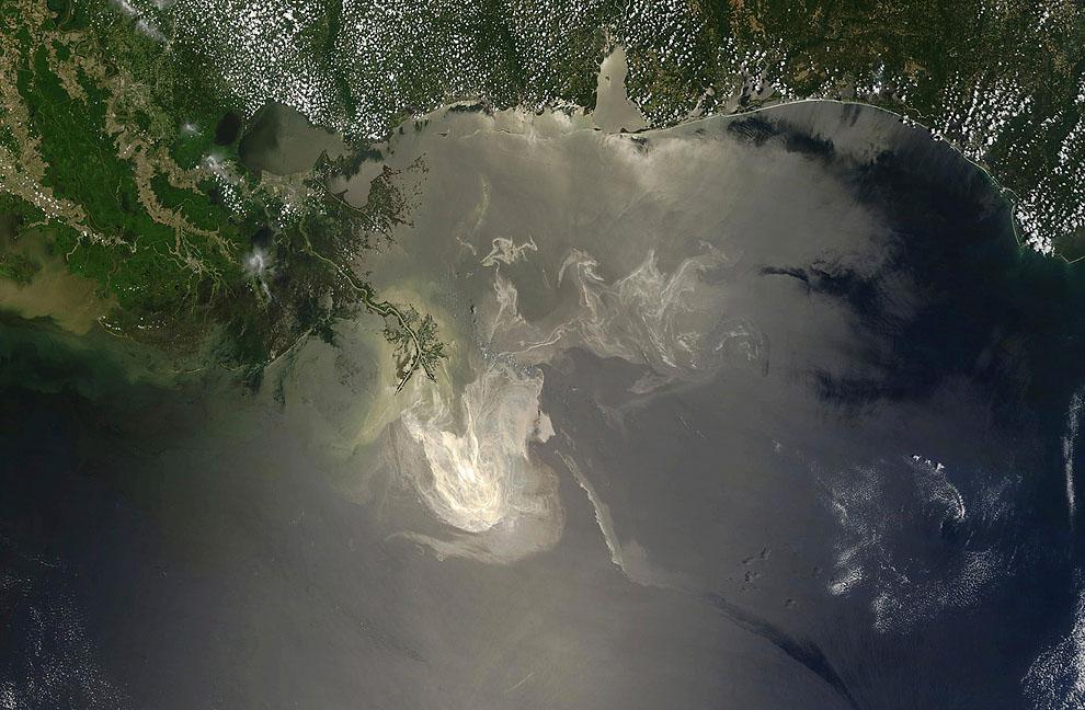 o13 RTR2EJ0L Разлив нефти в Мексиканском заливе год спустя