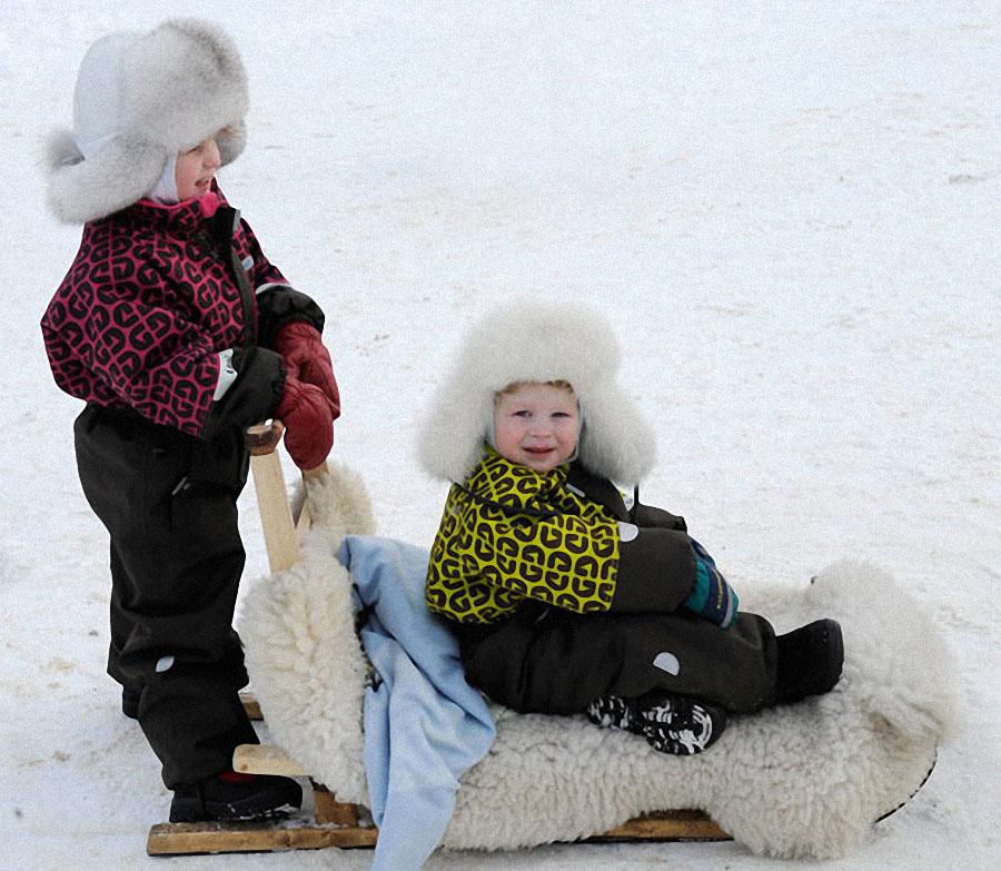 race09 Гонки на северных оленях в Лапландии