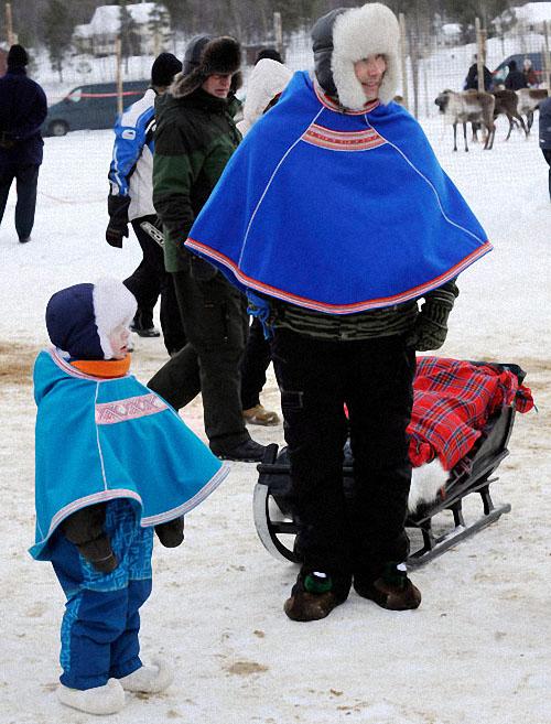 race13 Гонки на северных оленях в Лапландии