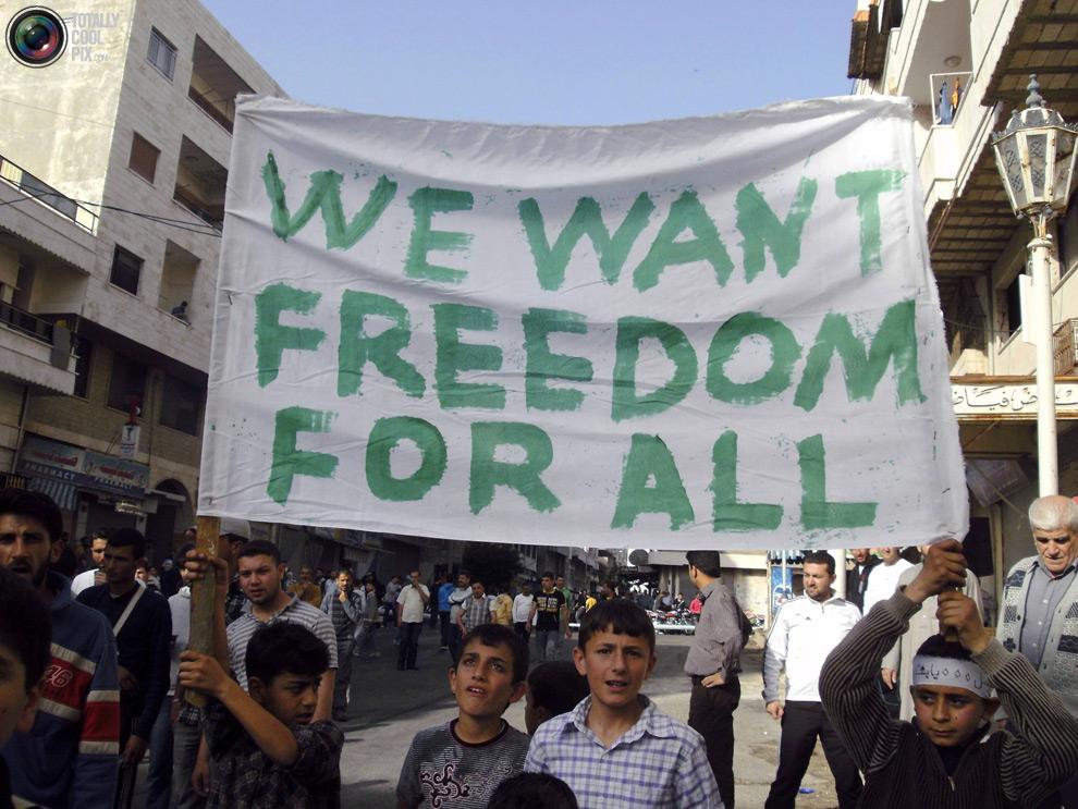 syria101 Кровавые протесты в Сирии
