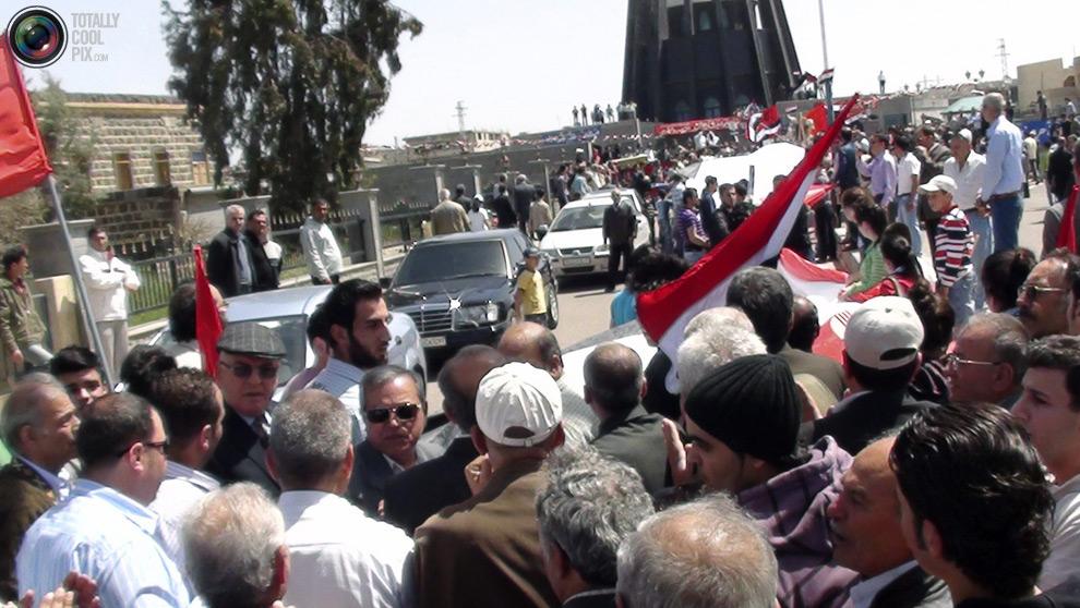 syria121 Кровавые протесты в Сирии