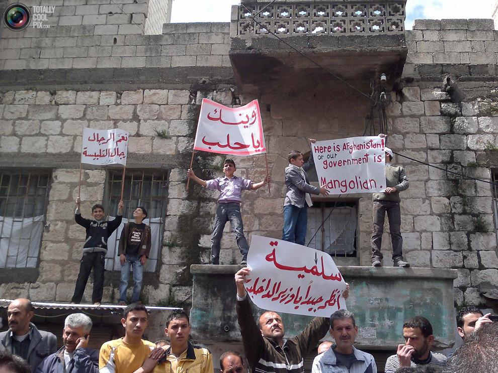 syria181 Кровавые протесты в Сирии